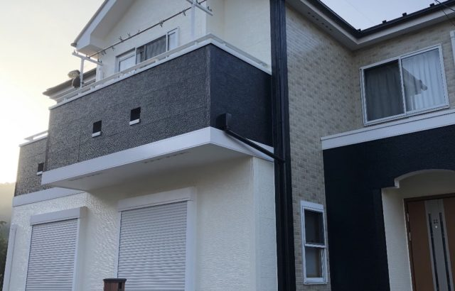 国立市 外壁塗装 屋根塗装 ラジカル制御塗料と遮熱塗料使用