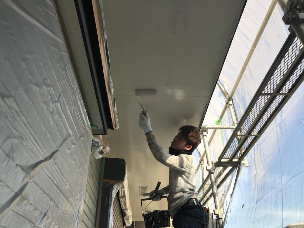 軒天 外壁塗装