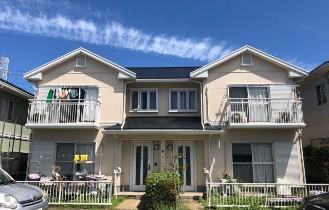 外壁塗装 屋根塗装 コーキング工事 水性シリコン塗料 東京都国立市