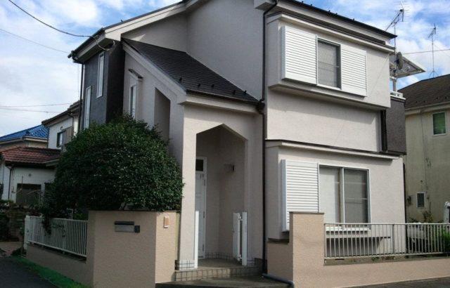 外壁塗装・屋根塗装・外構塗装(塀) 昭島市 ラジカル制御型塗料