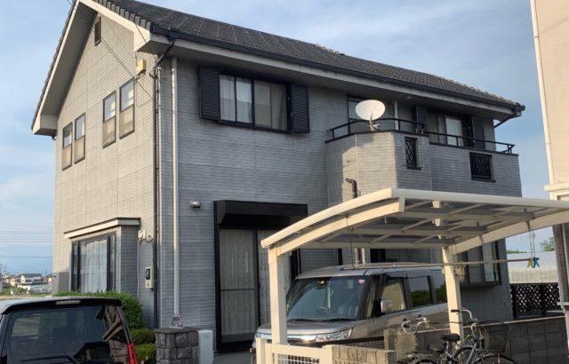東京都昭島市 外壁塗装・付帯部塗装(破風、雨樋など)ファイン4Fセラミック