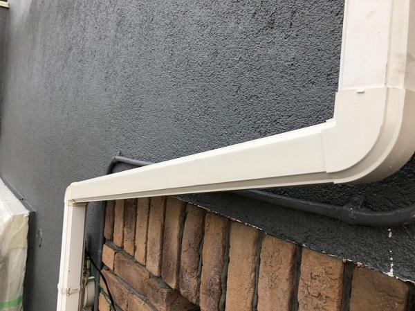 東京都立川市 雨樋修理 ガルバリウム製 部分修理