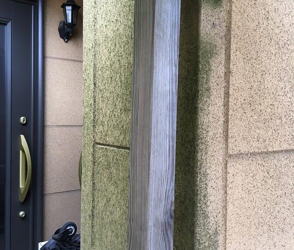 東京都国立市 外壁塗装 チョーキング現象 コーキング
