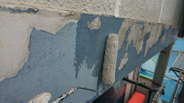 東京都国分寺市 外壁塗装 屋根塗装 下地処理 無機系塗料 ダイヤスーパーフレックス