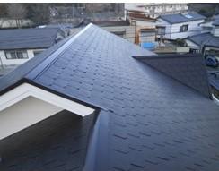 東京都国立市 屋根塗装 ファインシリコンベスト