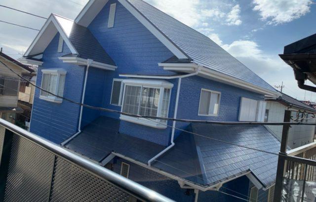 東京都立川市 外壁塗装 屋根塗装 コーキング工事