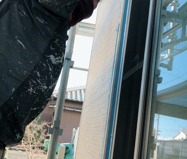 東京都立川市 外壁塗装 付帯部塗装 雨戸 下地処理 オートンイクシード