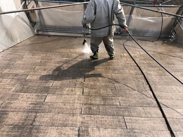 東京都国立市 屋根塗装 外壁塗装 近隣の方へのご挨拶 下地調整