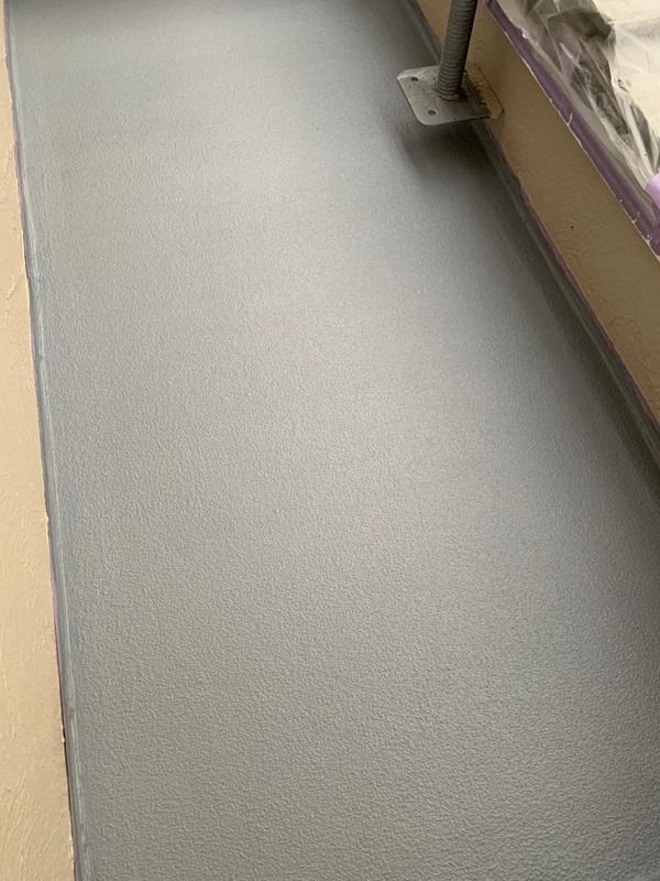 東京都国立市 屋根カバー工法(重ね葺き工事) 防水工事 バルコニー ウレタン防水 (4)1
