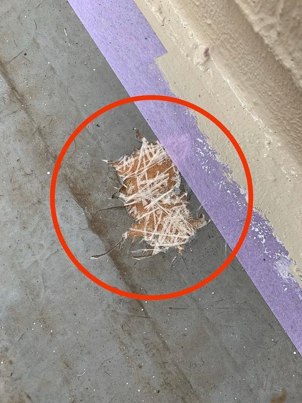 東京都国立市 屋根カバー工法(重ね葺き工事) 防水工事 事前調査 バルコニー (4)