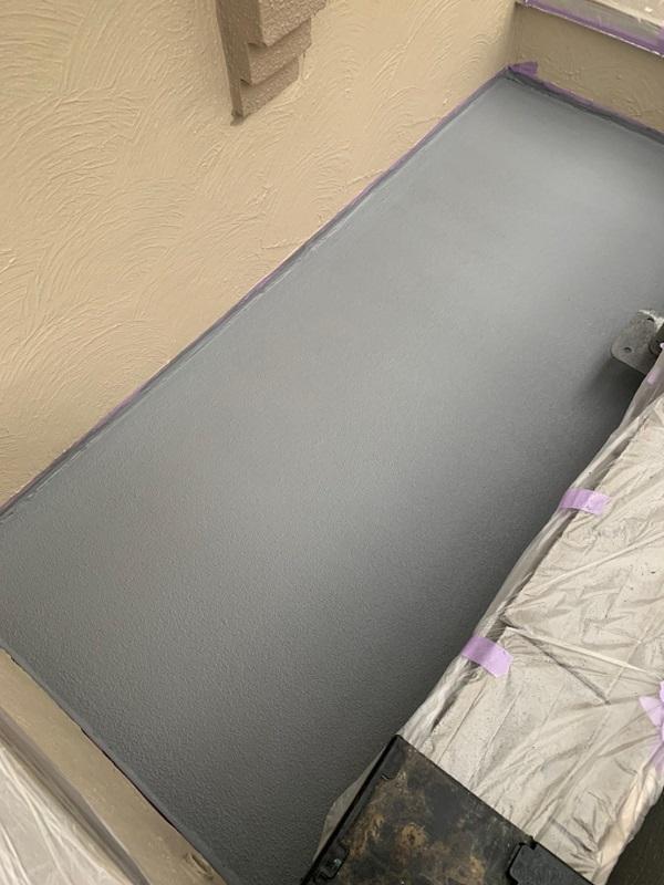 東京都国立市 屋根カバー工法(重ね葺き工事) 防水工事 バルコニー ウレタン防水 (8)1