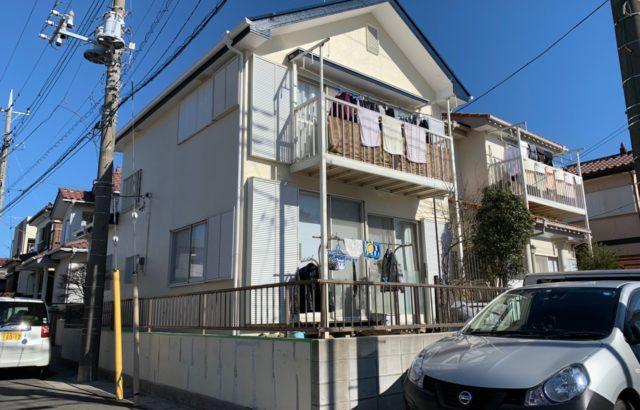 東京都多摩市 屋根塗装 外壁塗装 付帯部塗装 雨樋交換 棟板金交換