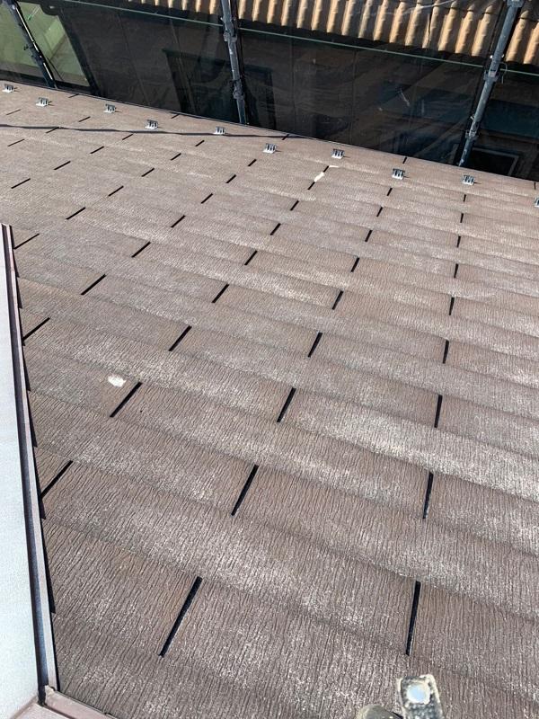 東京都国立市 屋根カバー工法(重ね葺き工事) 防水工事 事前調査 (3)