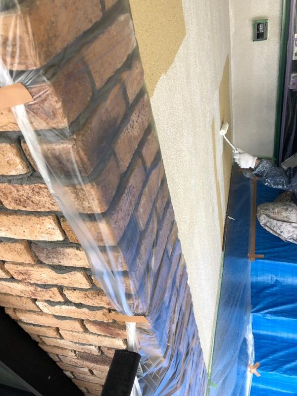 東京都国分寺市 外壁塗装 付帯部塗装 ラジカル制御型塗料 関西ペイント アレスダイナミックトップ