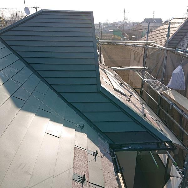 東京都国立市 屋根カバー工法(重ね葺き工事) 防水工事 完工 定期訪問サポートについて (4)