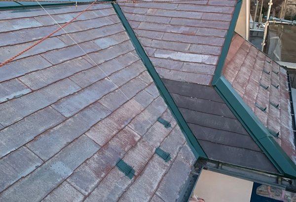 東京都国立市 屋根カバー工法(重ね葺き工事) 防水工事 雪止め工事