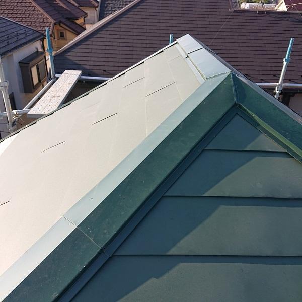 東京都国立市 屋根カバー工法(重ね葺き工事) 防水工事 完工 定期訪問サポートについて (8)