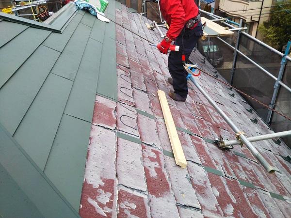 東京都国立市 屋根カバー工法(重ね葺き工事) 防水工事 完工 定期訪問サポートについて (12)