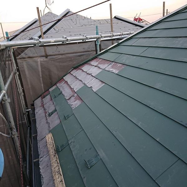 東京都国立市 屋根カバー工法(重ね葺き工事) 防水工事 完工 定期訪問サポートについて (1)