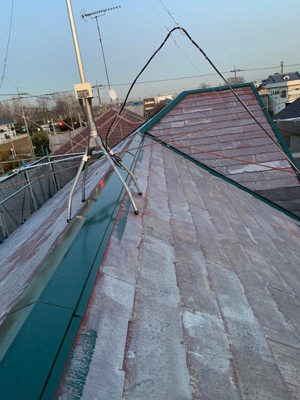 東京都国立市 屋根カバー工法(重ね葺き工事) 防水工事 板金工事 (1)