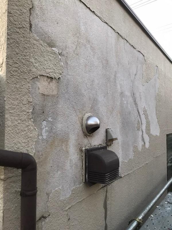 東京都国分寺市 外壁補修 モルタル 事前調査 (4)