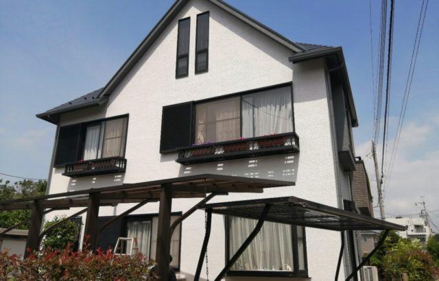 東京都国立市 外壁塗装 シーリング工事 ひび割れ補修 屋根板金補修 防水工事 付帯部塗装