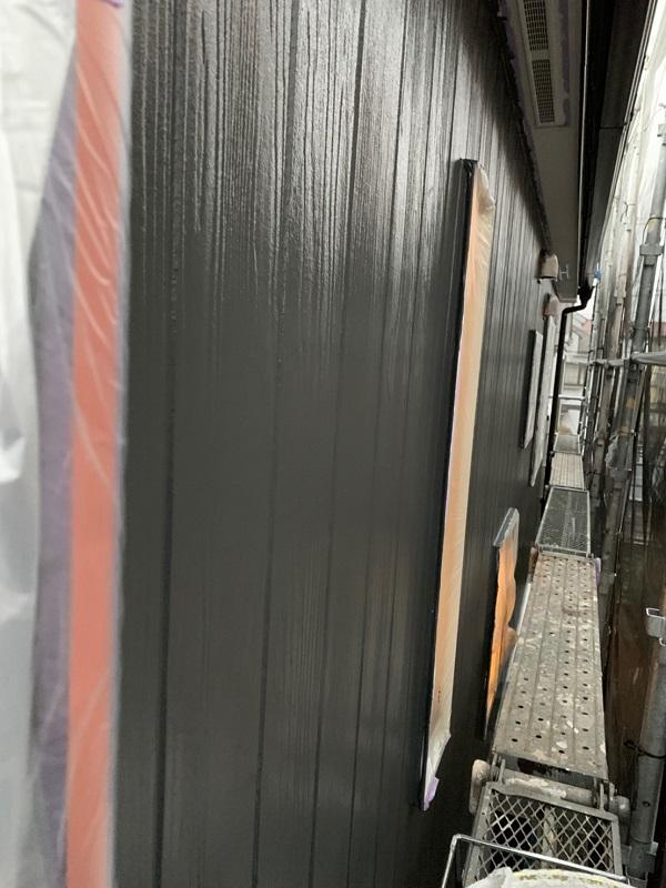 東京都立川市 外壁塗装 屋根塗装 中塗り・上塗り 光触媒塗料 (7)
