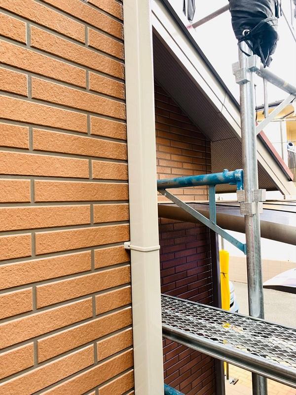 東京都立川市 外壁塗装 屋根塗装 防水工事 日本ペイント ピュアライドUVプロテクトクリアー (2)