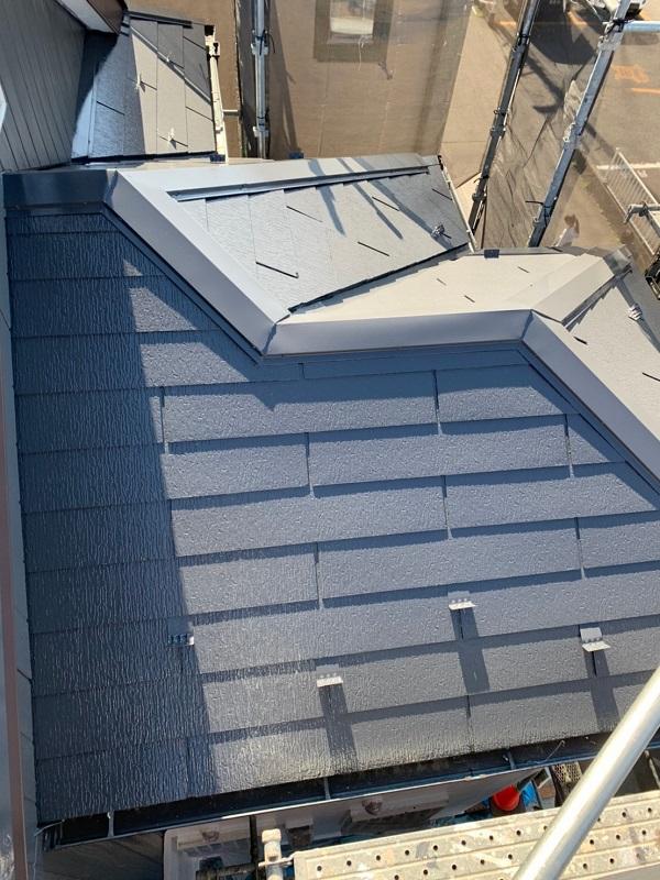 東京都立川市 外壁塗装 屋根塗装 付帯部塗装 雪止め工事 (3)