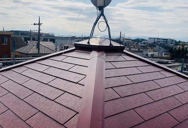 東京都立川市 外壁塗装 屋根塗装 防水工事 日本ペイント 遮熱塗料 サーモアイSi 雪止め (3)