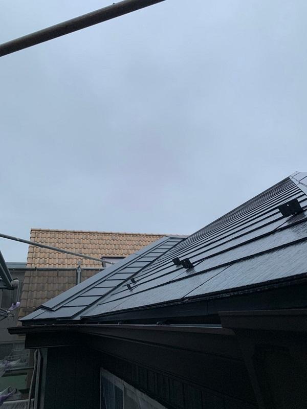 東京都立川市 外壁塗装 屋根塗装 付帯部塗装 雪止め工事 (1)