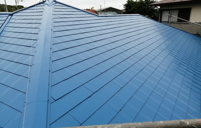 東京都多摩市 屋根塗装 シーリング工事 板金交換