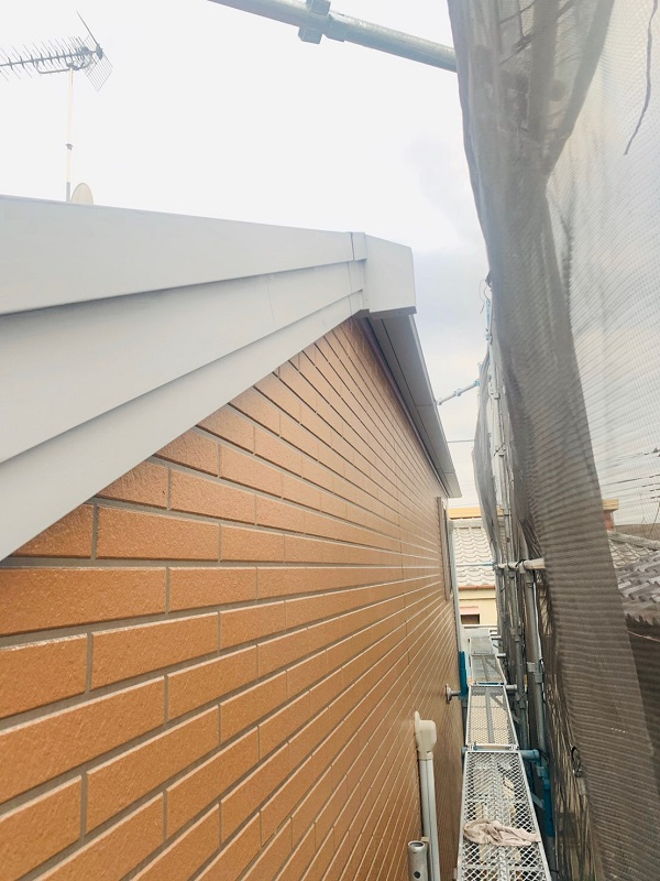 東京都立川市 外壁塗装 屋根塗装 防水工事 日本ペイント ピュアライドUVプロテクトクリアー (1)