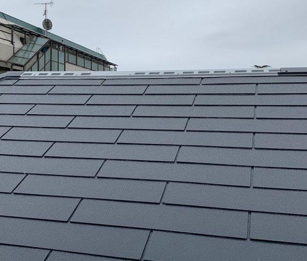 東京都立川市 外壁塗装 屋根塗装 縁切り タスペーサー