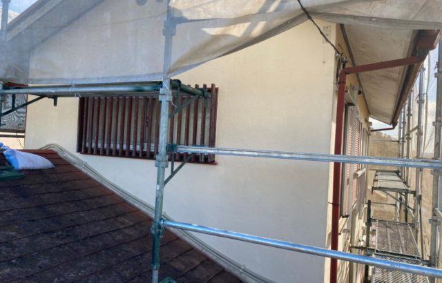 東京都立川市 外壁塗装 棟板金工事 雨樋修理 付帯部塗装