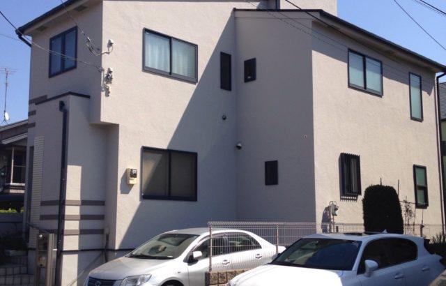 東京都立川市 外壁塗装 防汚防藻 光触媒 ピュアコート
