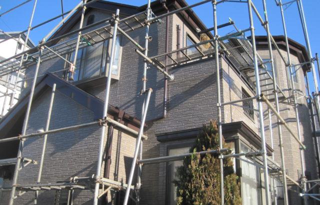 東京都立川市 外壁塗装 屋根塗装 足場設置 セットがお得