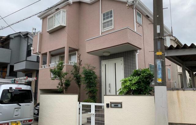 東京都立川市 外壁塗装 付帯部塗装 門塀塗装