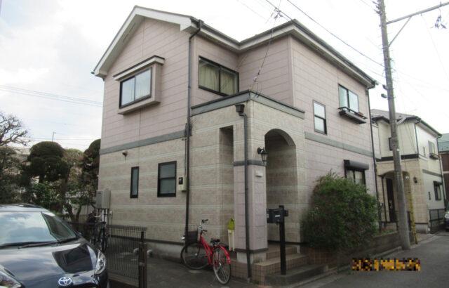 東京都国立市 外壁塗装 付帯部塗装 シーリング工事