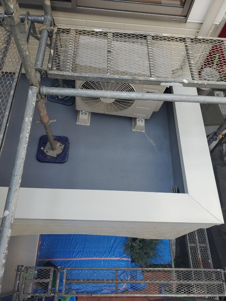 ベランダ防水塗装の画像